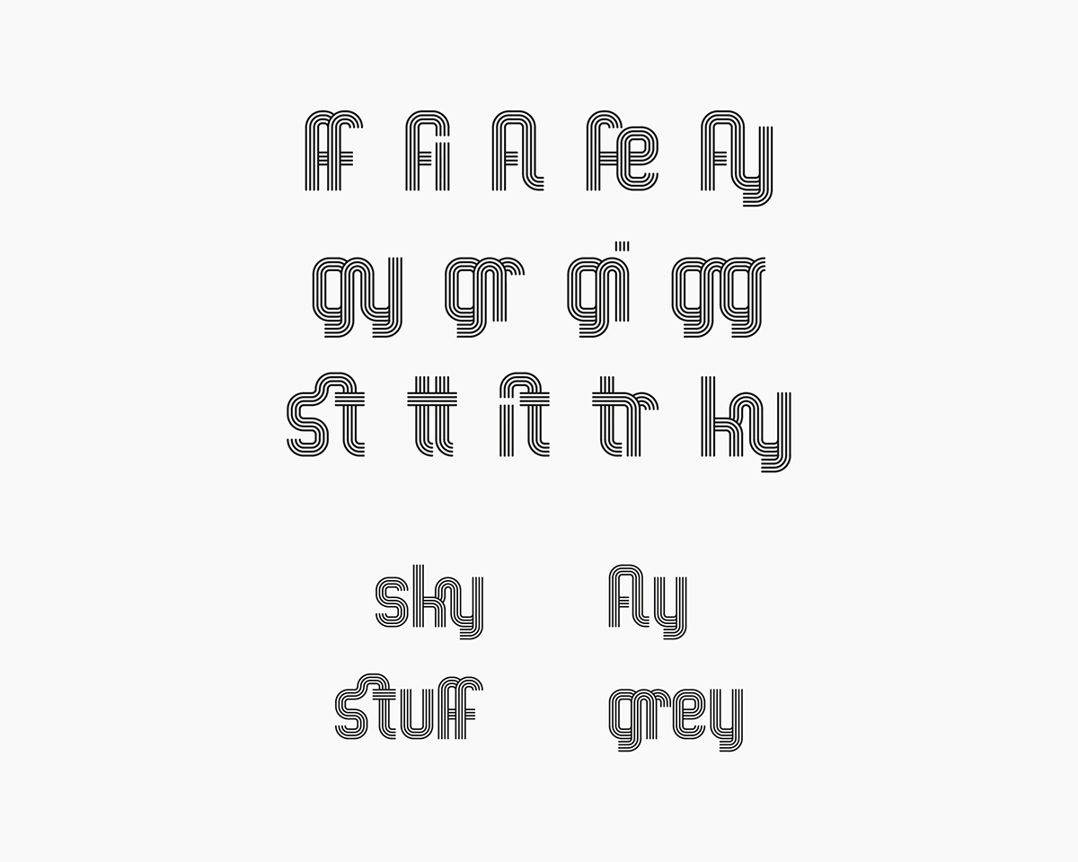 diseño gráfico graphic design  tipografia typography   display typography inline typography