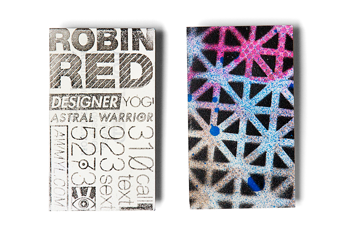 Graphic design business cards on behance reheart Choice Image
