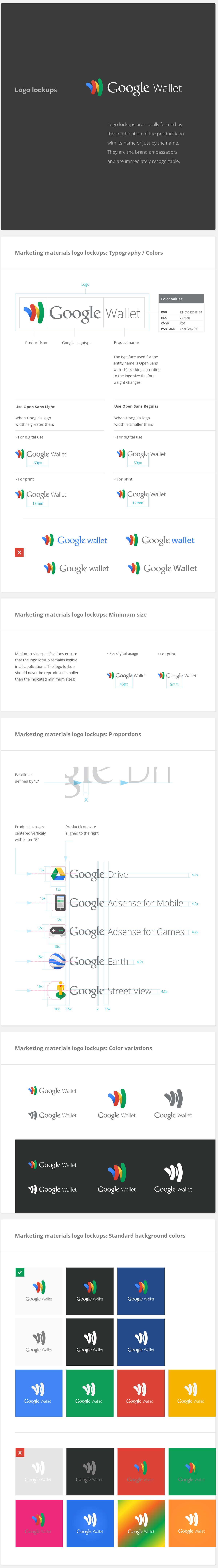 google visual assets guidelines Alex Griendling Jefferson Cheng Zachary Gibson Christopher Bettig yan yan Style Guide Roger ddone