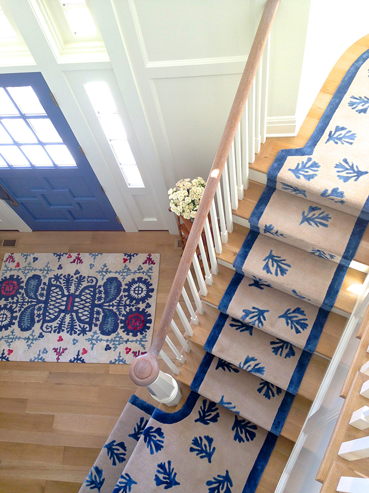 Beautiful Custom Cool Rugs Featured In A Conneticut Home On The Water. Interior  Design By Eliza Gatfield For Custom Cool.