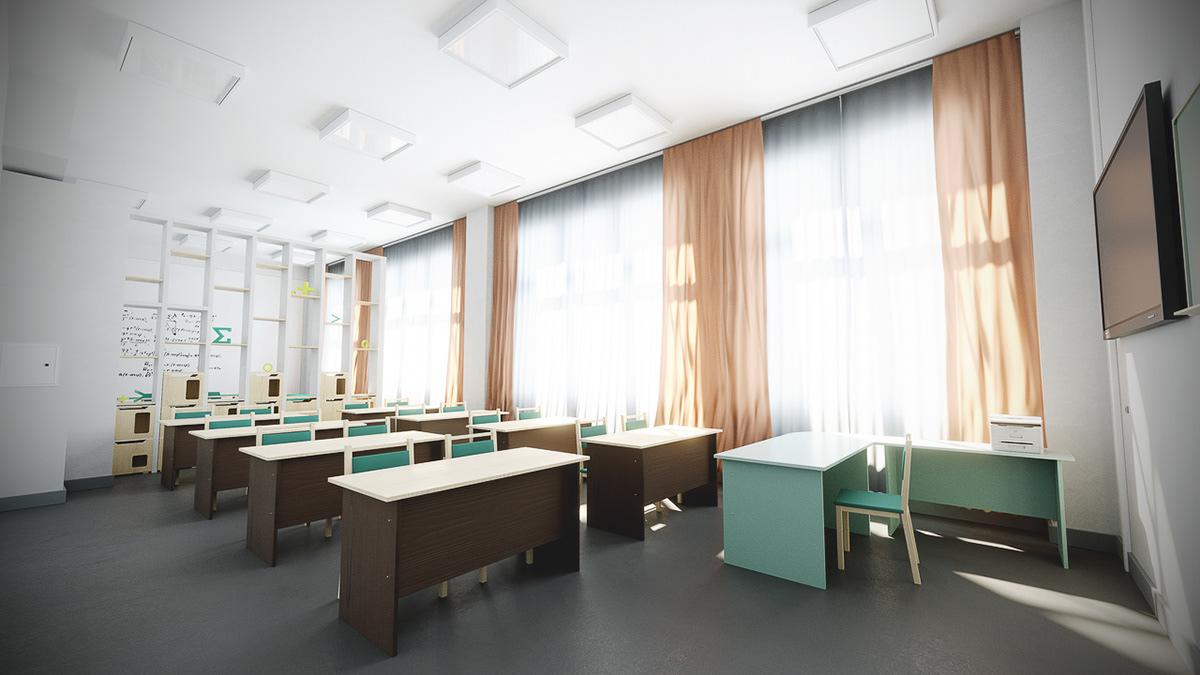 Kaspersky Interior school glow 3D