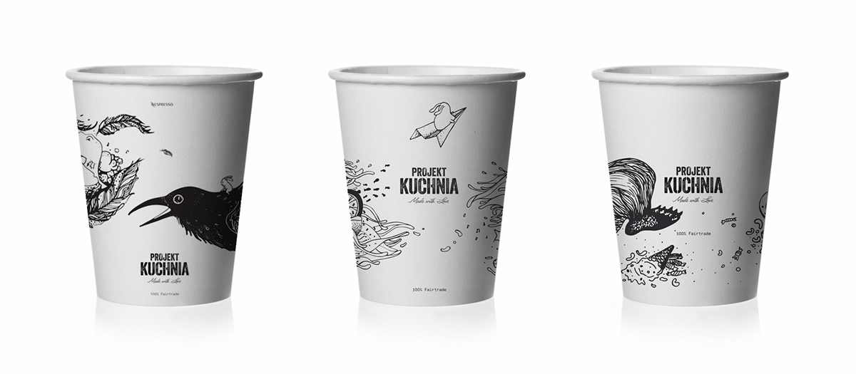 Projekt Kuchnia Coffee Cups On Behance