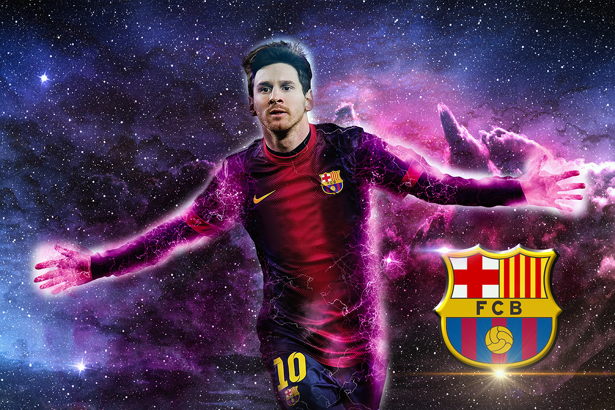 Lionel Messi Fc Barcelona On Behance