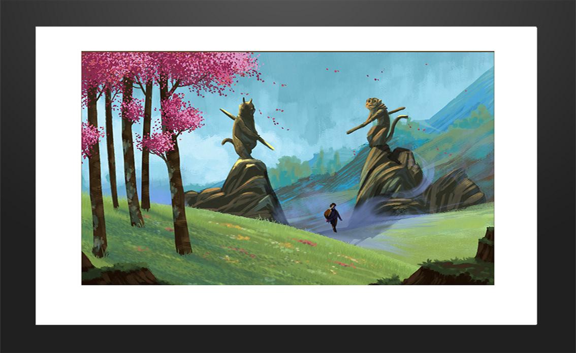 ILLUSTRATION  painting   digital art print