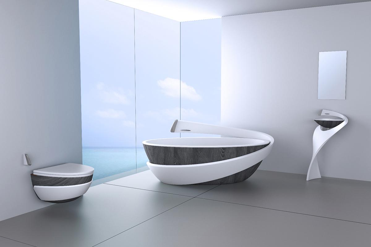 Cristalplant - Salacia Bathroom Suite on Behance