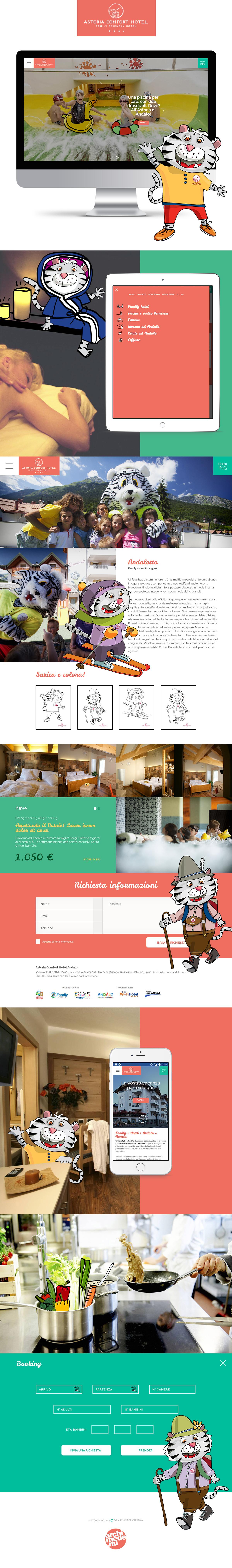 Hotel Astoria andalo archimede Archimde web agency Archimede Trento