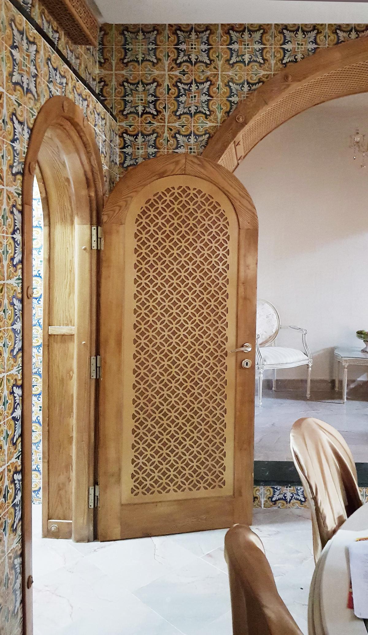 Image may contain: indoor and door