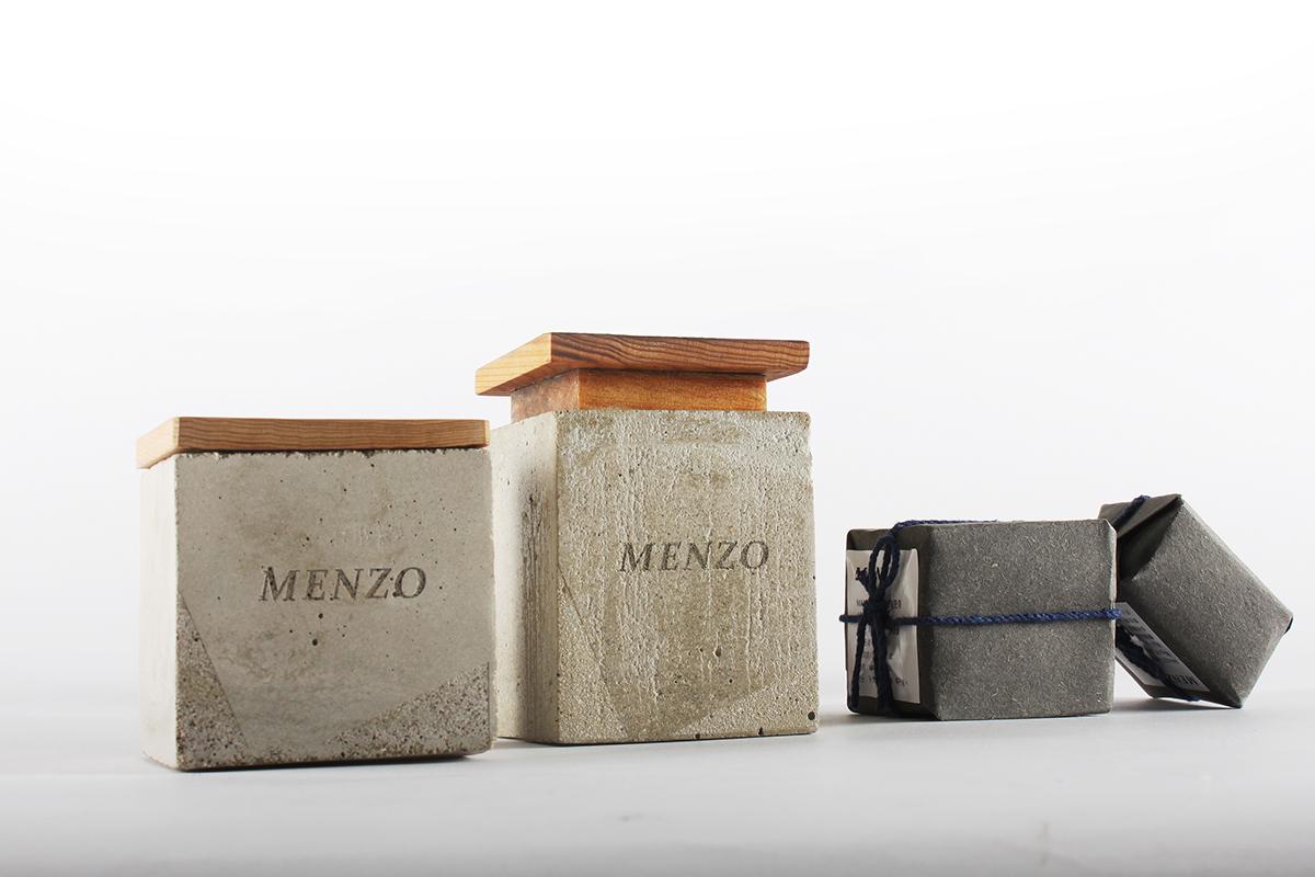 soap package concrete wood taiwan 包裝 肥皂 男性 水泥 檜木 風格