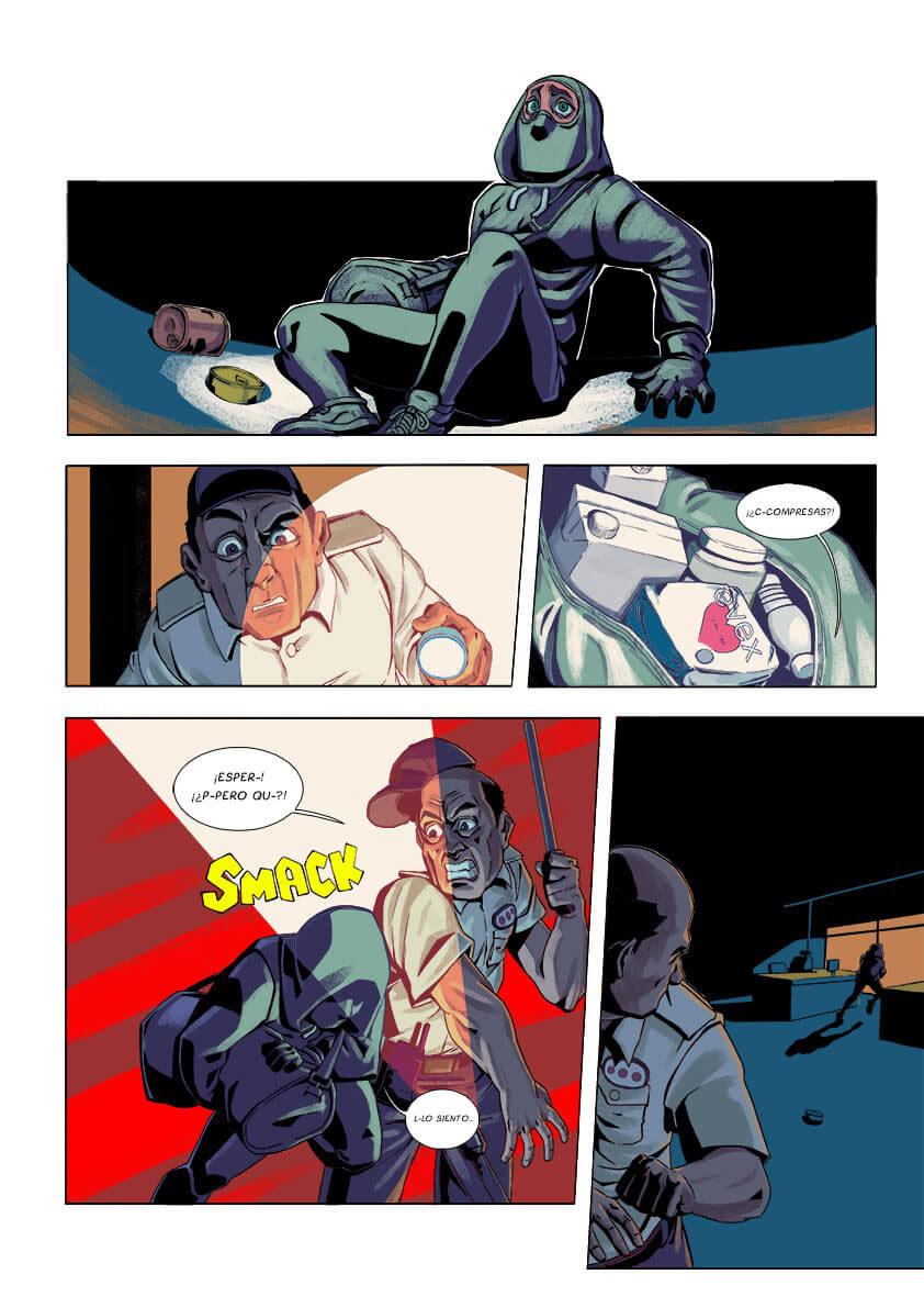 comic ilustracion color narrativa