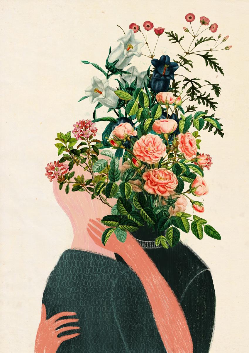 Surreal Headless Collages by Justyna Hołubowska-Chrząszczak