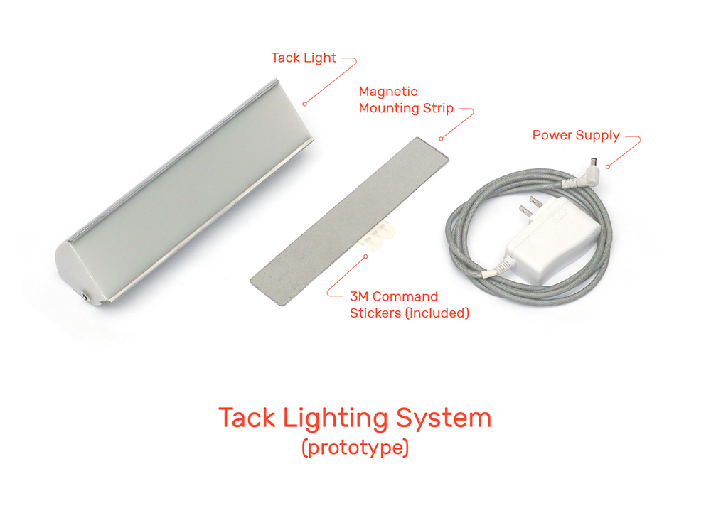 tack light city Urban simple Adaptable multifunctional Kickstarter modern flexible customizable lighting Lamp Innovative furniture