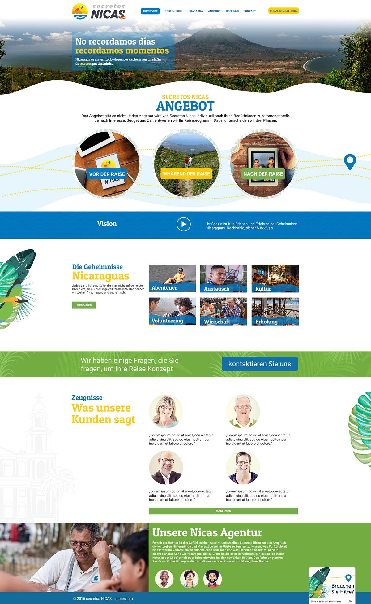 Corporate Identity ux/ui Web Design