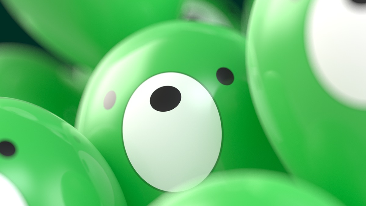 Kaspersky midorikuma studio green 3D