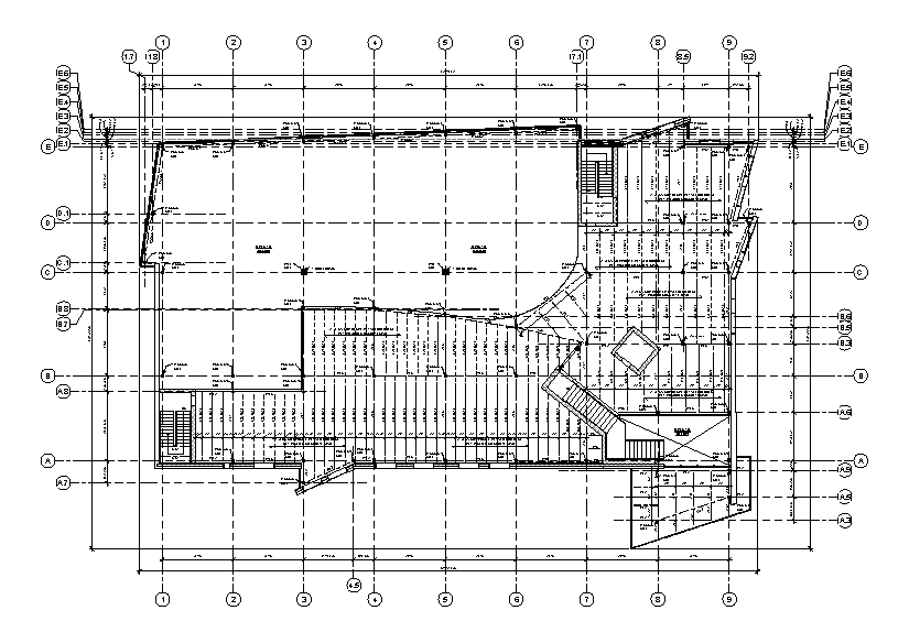 Construction Documentation Steel Framed Building On Behance