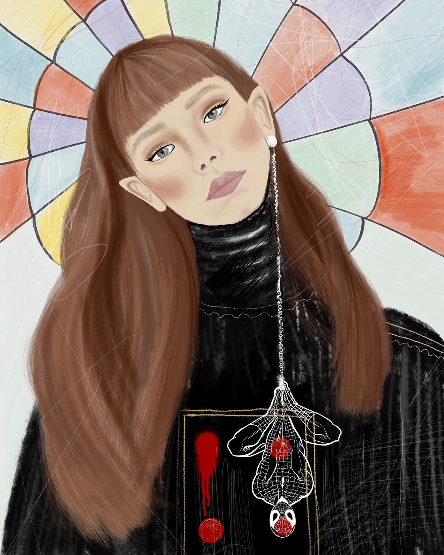Digital Art  ILLUSTRATION  Drawing  sketchbook Character art