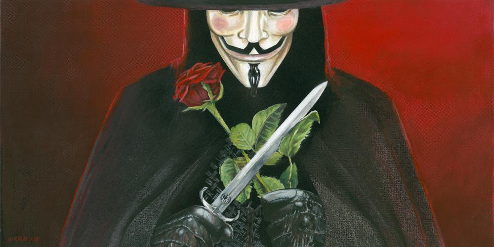 V for Vendetta fawkes november5th alan moore David Lloyd Wachowskis hugo weaving natalie portman revolution rebellion