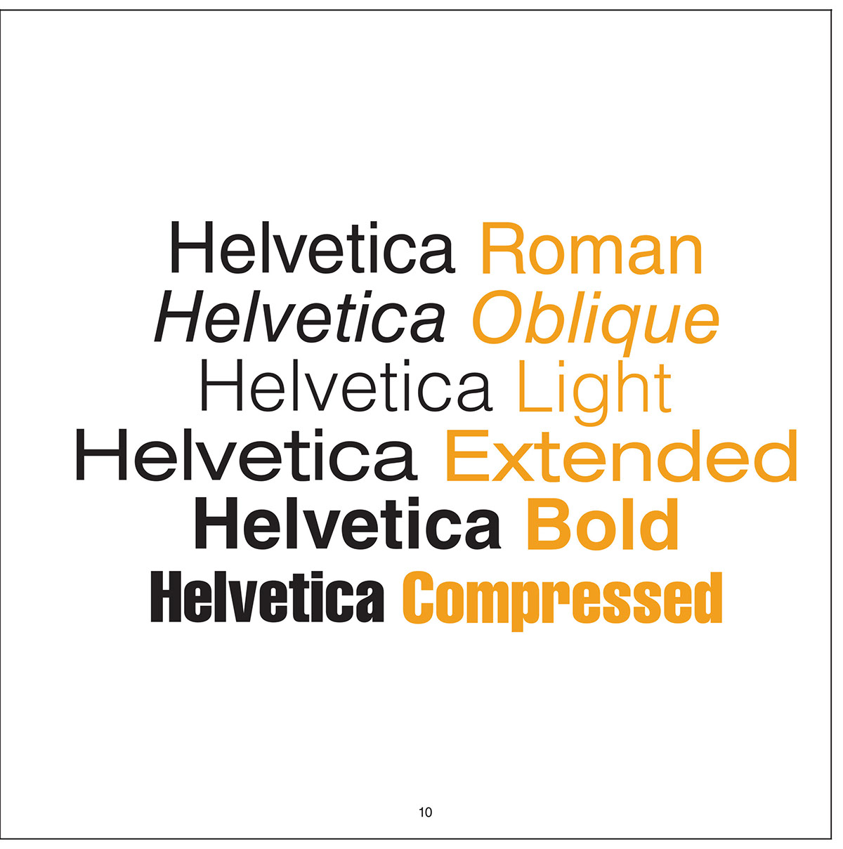Hh is for Helvetica on Behance