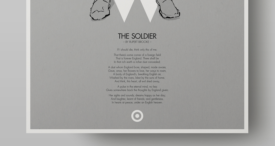 symbolism in the soldier by rupert brooke