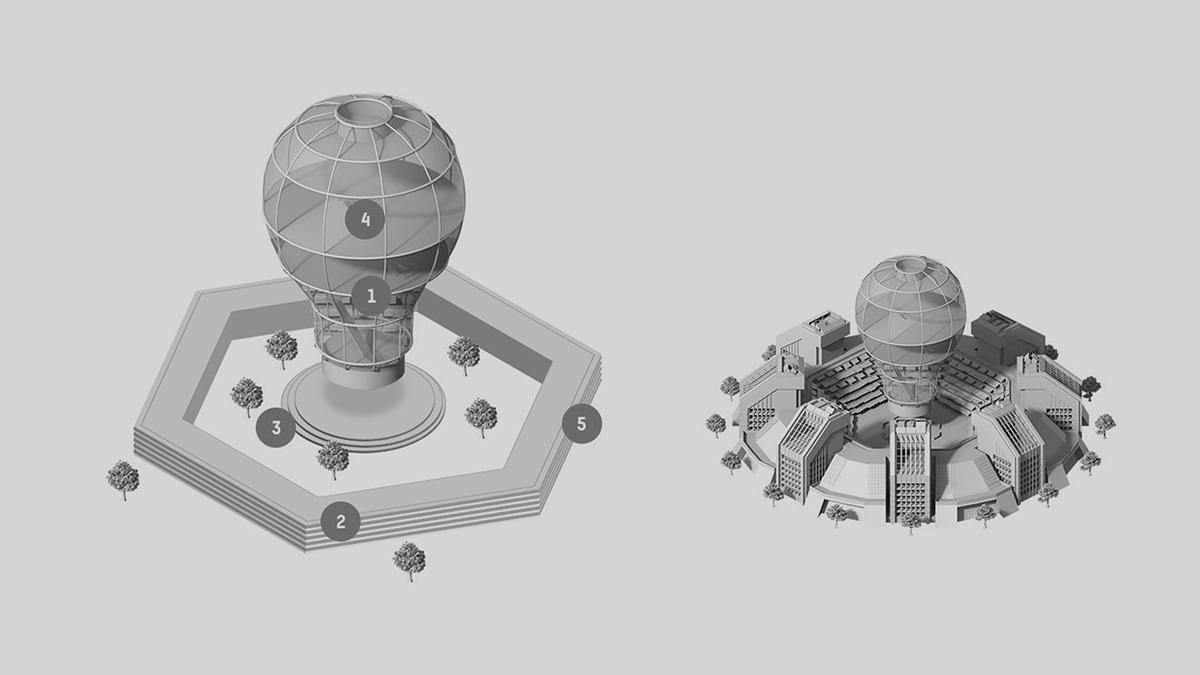 ILLUSTRATION  3D Isometric