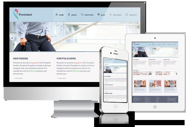 freebie site template templates Website templates Responsive responsive site template Modern Web Design creative web design proximet anariel design