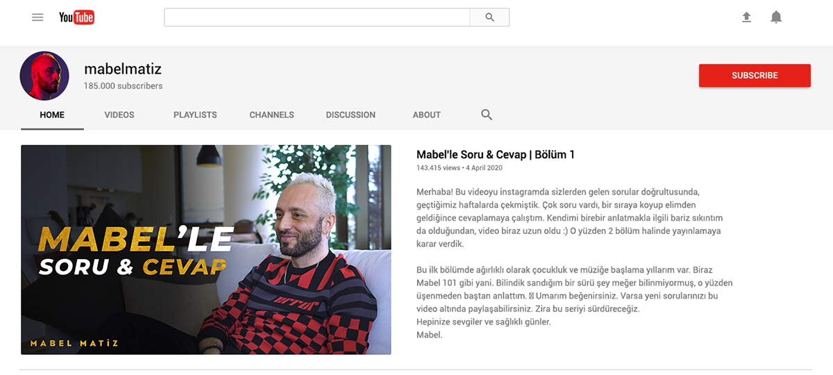 Deniz Şen Mabel Matiz Social Media Designs