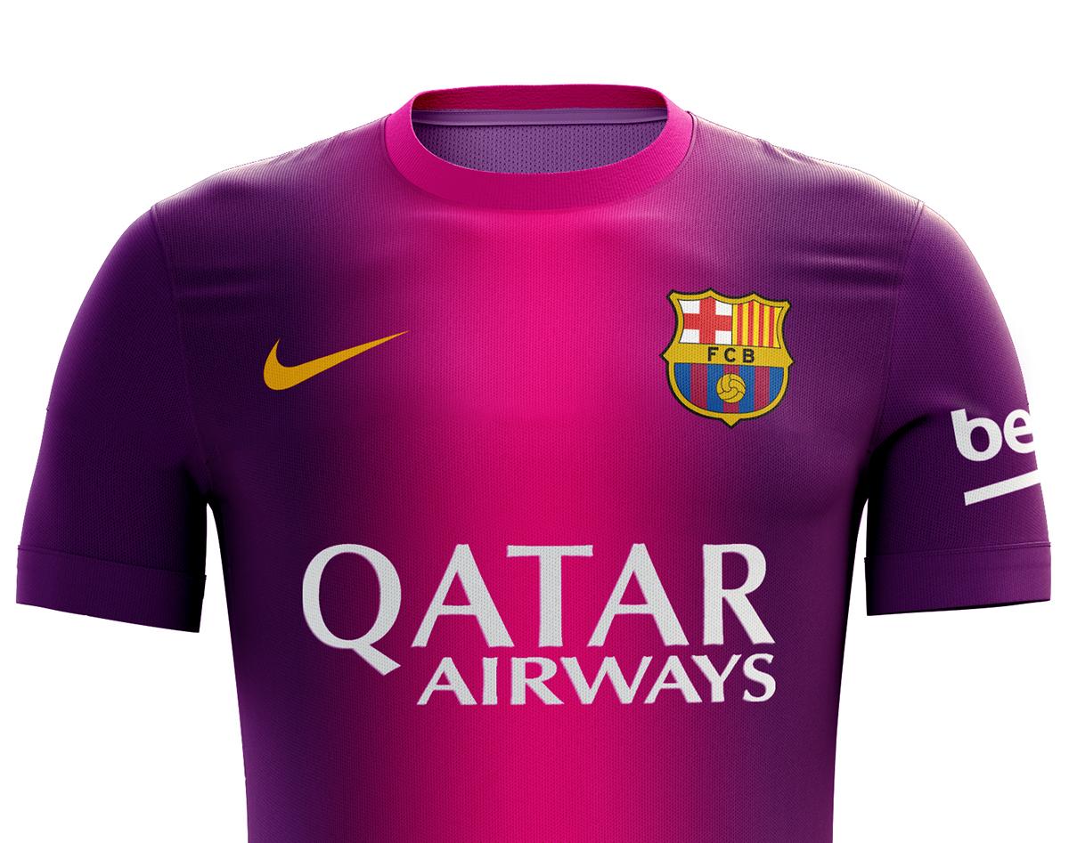I designed football kits for Fc Barcelona for the upcoming season 16 17.  THANK YOU! abae0e3f42c