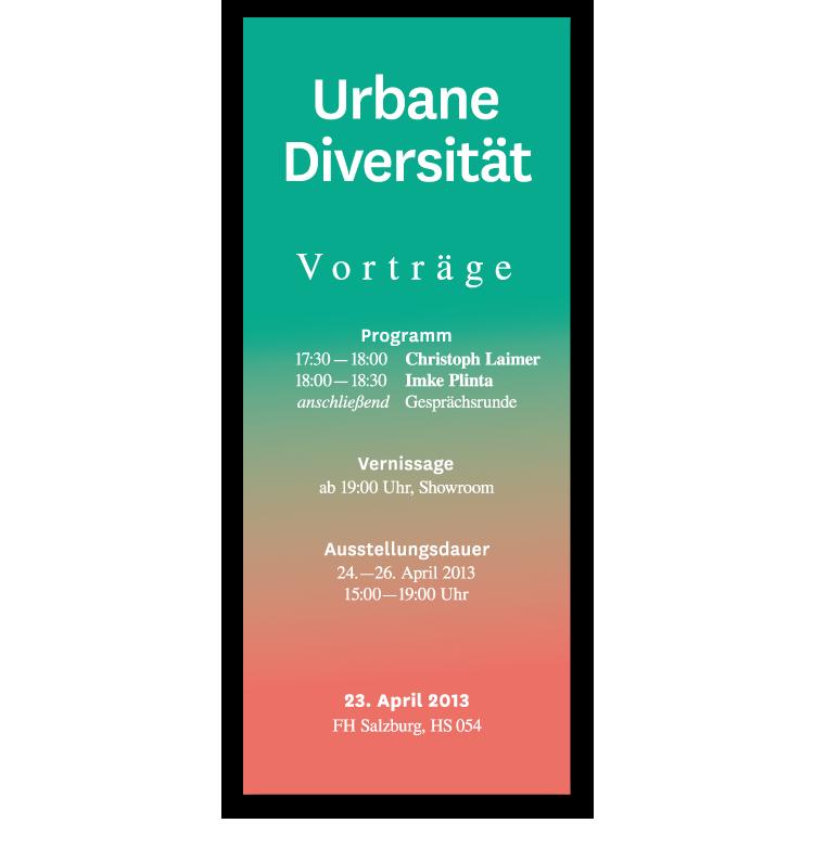 Exhibition  conference urban diversity Education gentrification urban planning design thinking Conception city Urban
