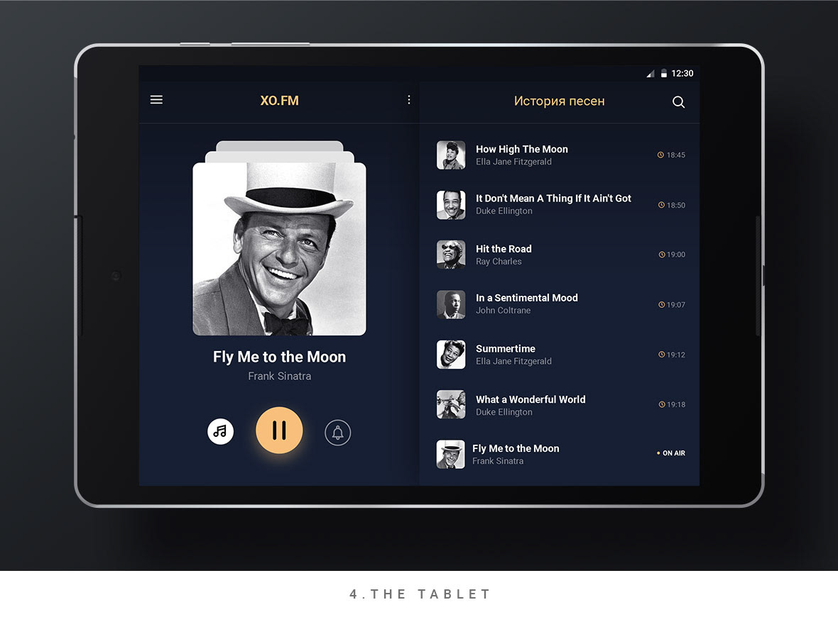 app music Radio ios android