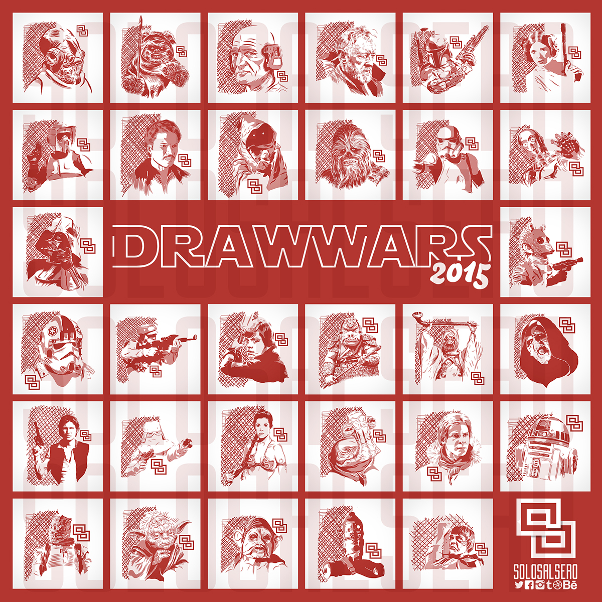 Starwars drawwars solosalsero adobeideas iPad
