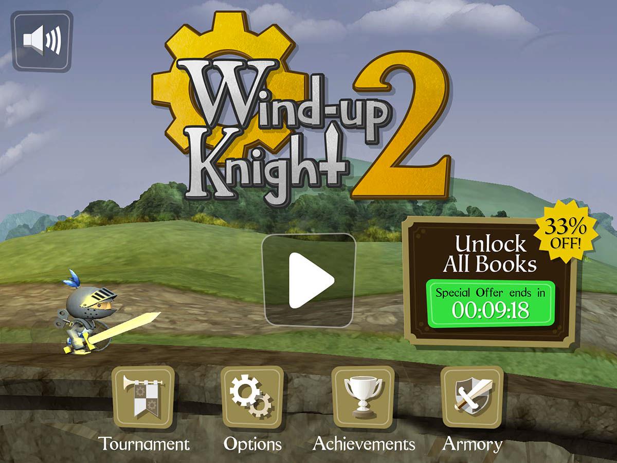 Paul Rand Pierce | Freelance Game UI UX Designer - Wind-Up Knight 2