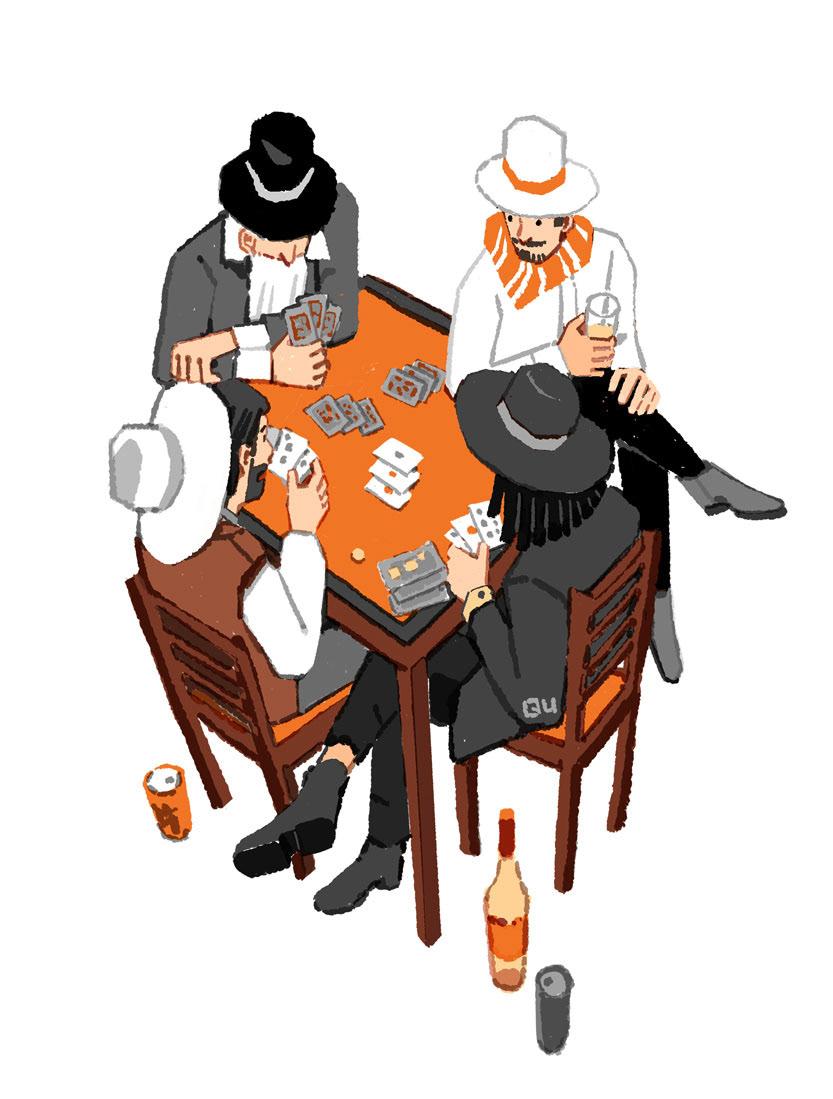 Editorial Illustration spot illustration midnight night lifestyle