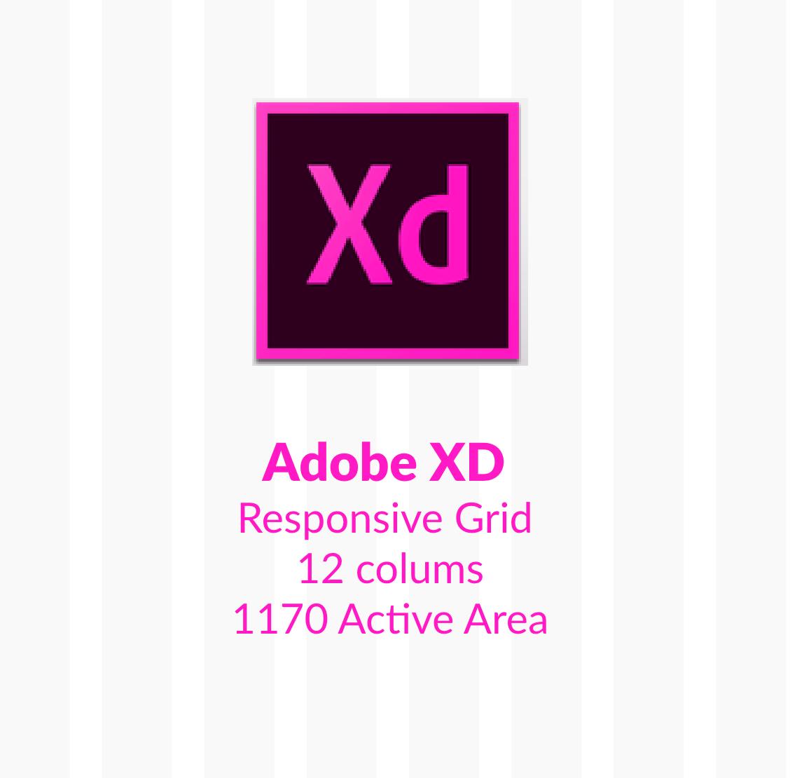 Adobe Experience Design 12 Column Responsive Grid 1170 On Behance