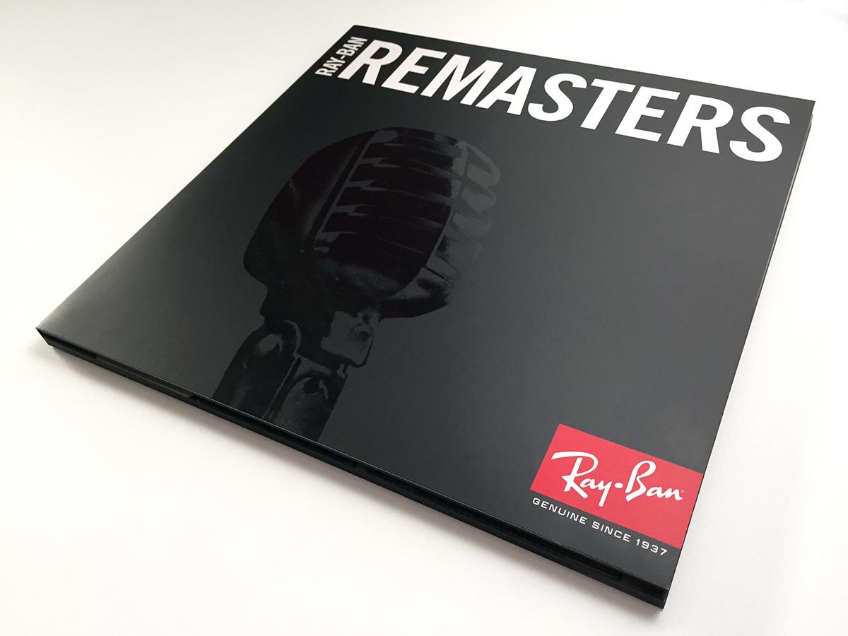pressrelease Remasters printdesign packagingdesign Ray-ban Event