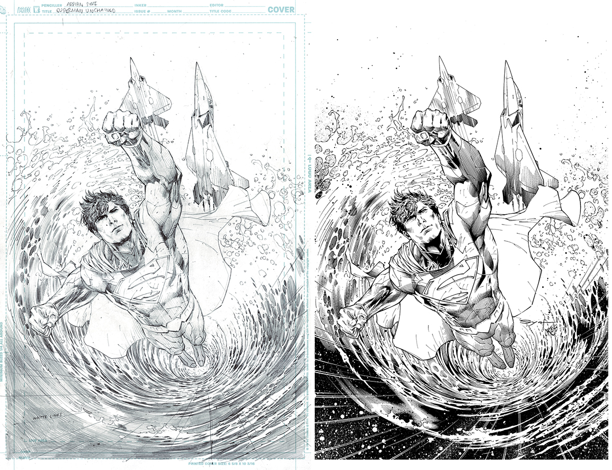 Art Of Comic Book Inking