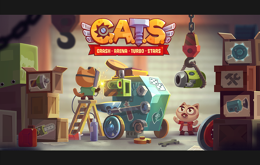 CATS promo banners on Behance