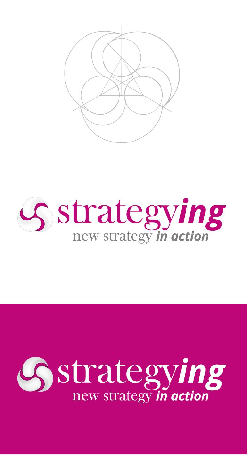 logo Logotipo strategying strategy