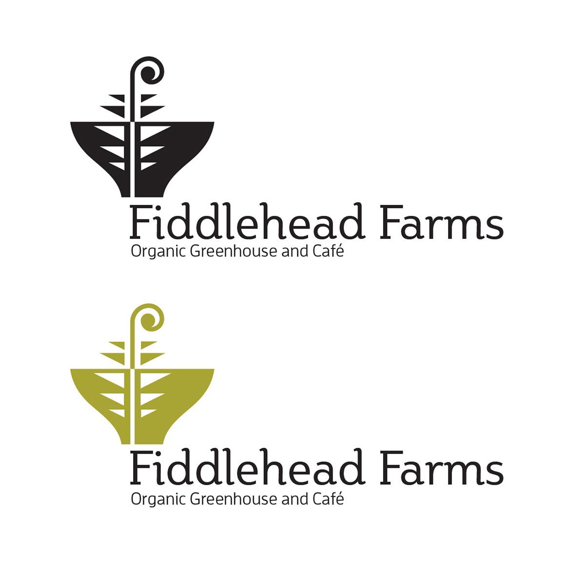 Organic Cafe Branding On Behance