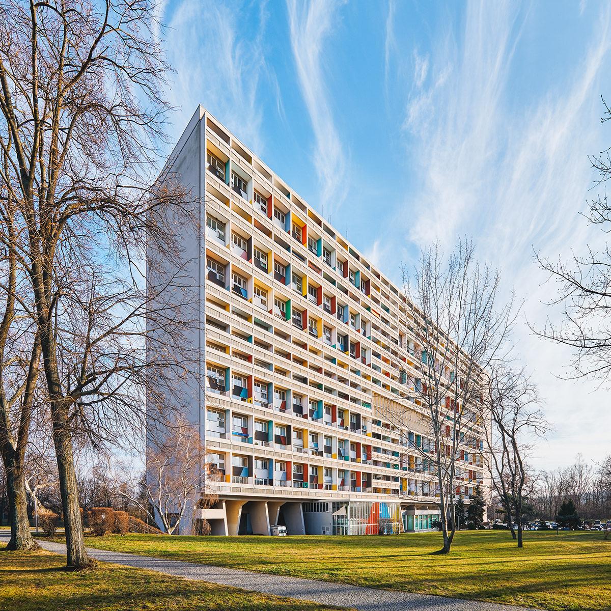 Le Corbusier Unite D Habitation unité d'habitation berlin on behance