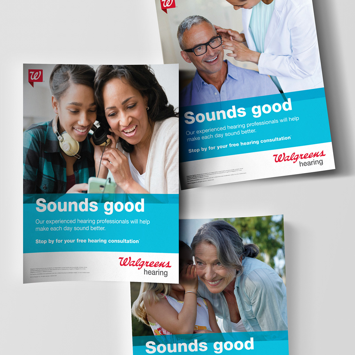 Walgreens Hearing on Behance