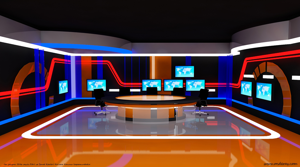 Tv set design model images galleries for Place setting images