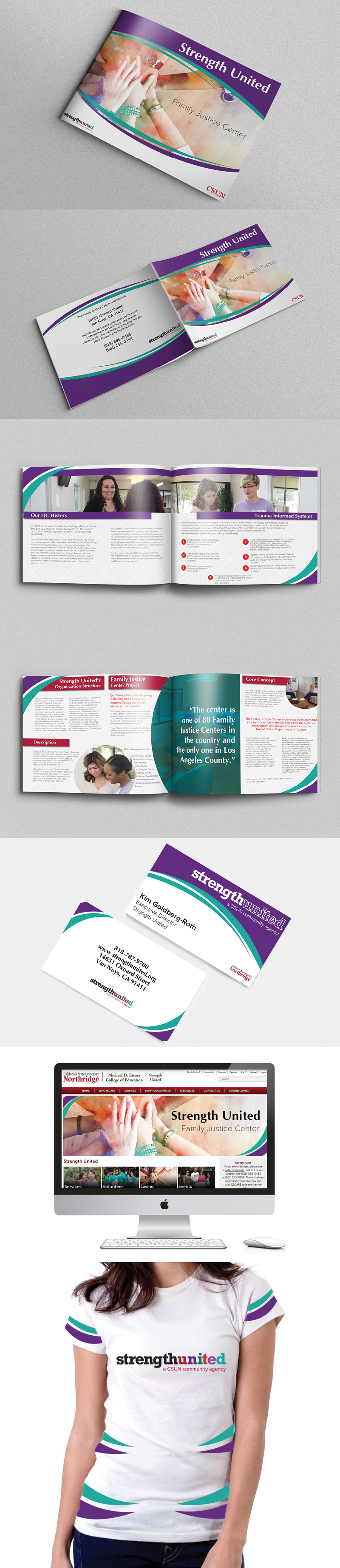 brochure Tshirt Design business card