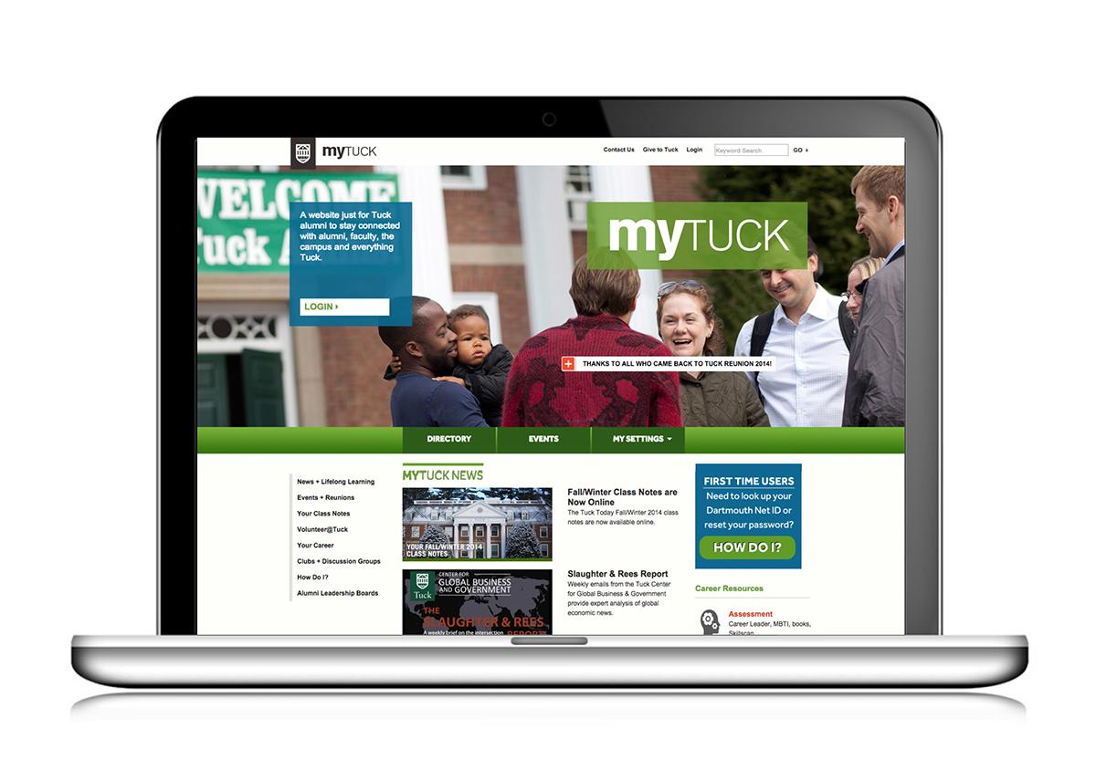 Content Management higher education alumni portal online resources