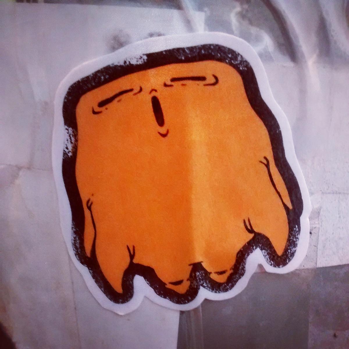 stickers urban art