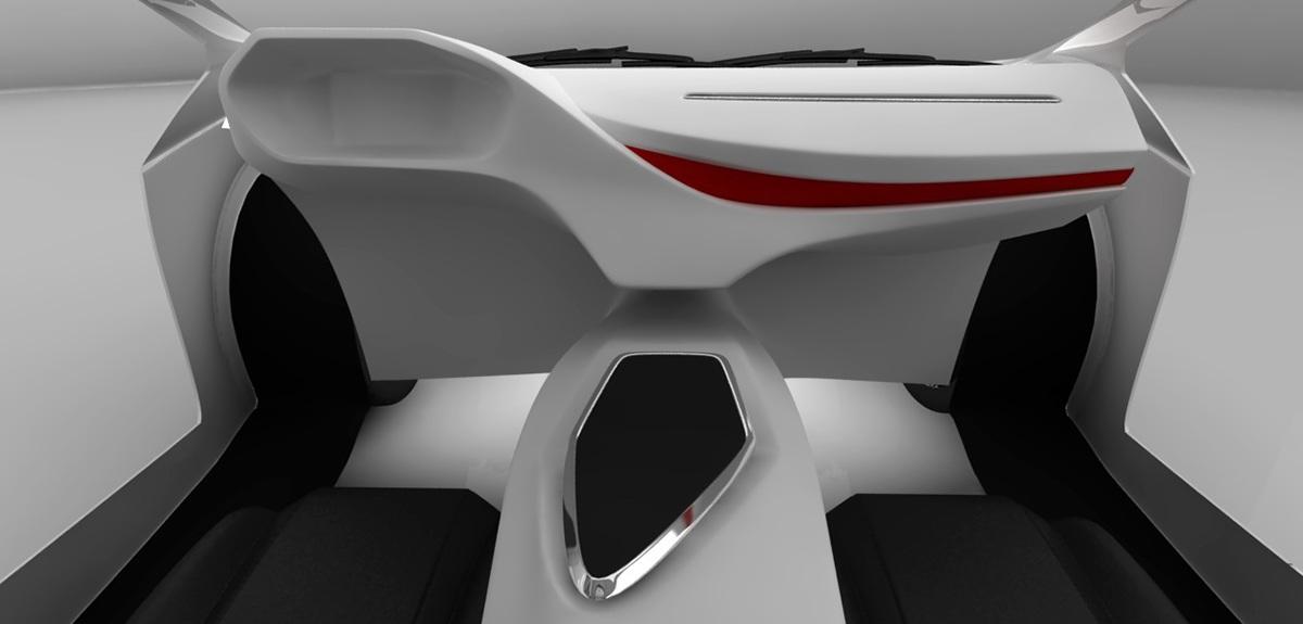 Lamborghini Edroid Interior Design On Behance