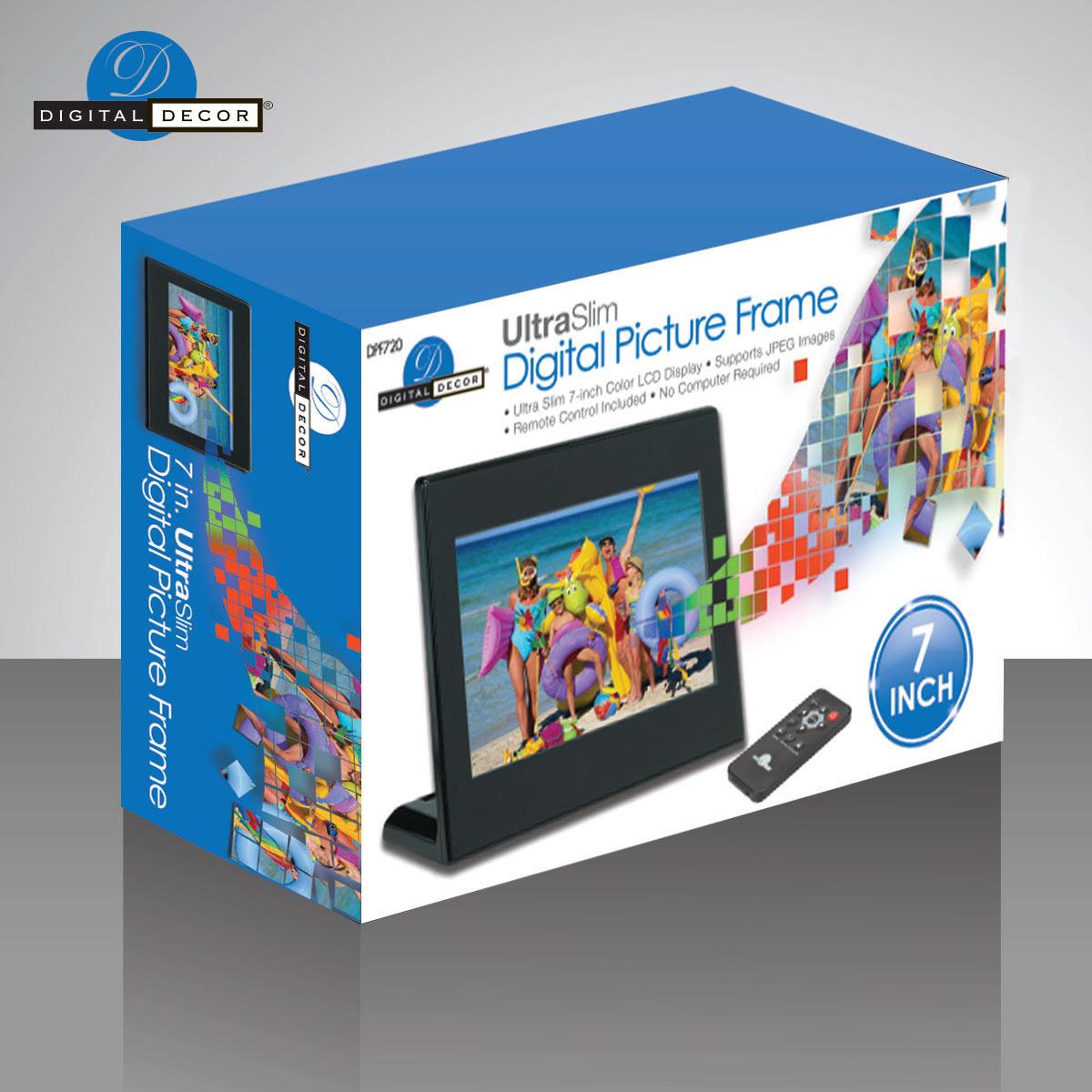 Digital Photo Frame Packaging for Target stores on Behance