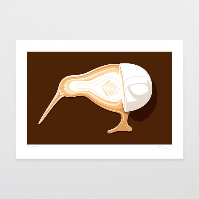 Glenn Jones artprint kiwiana newzealand