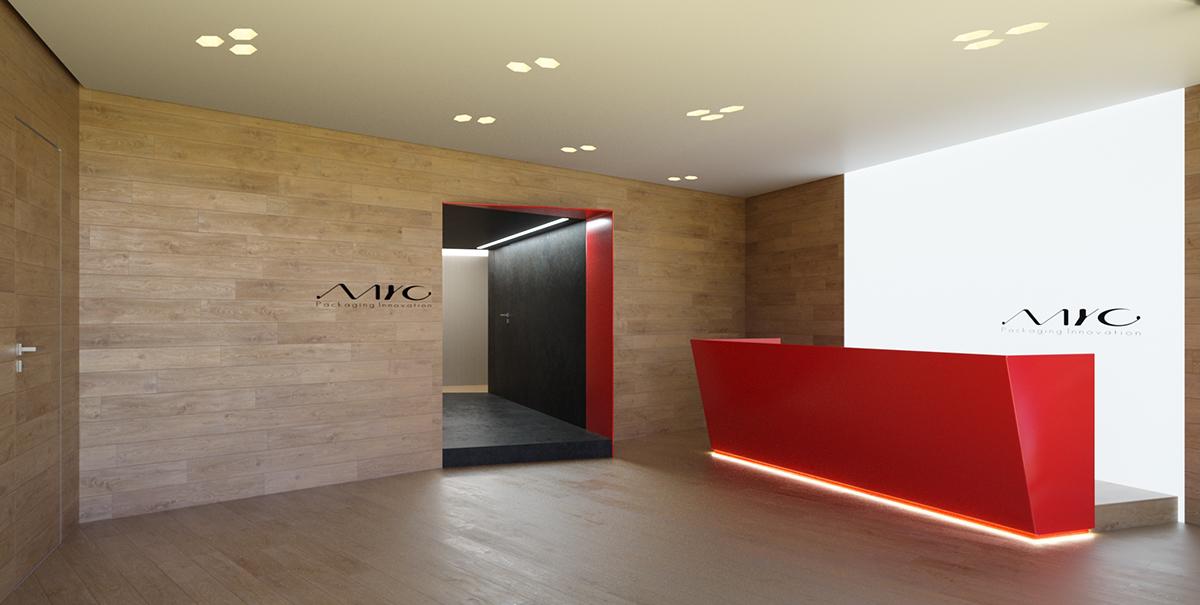 interior design  cosmetics headquarter offices showrooms