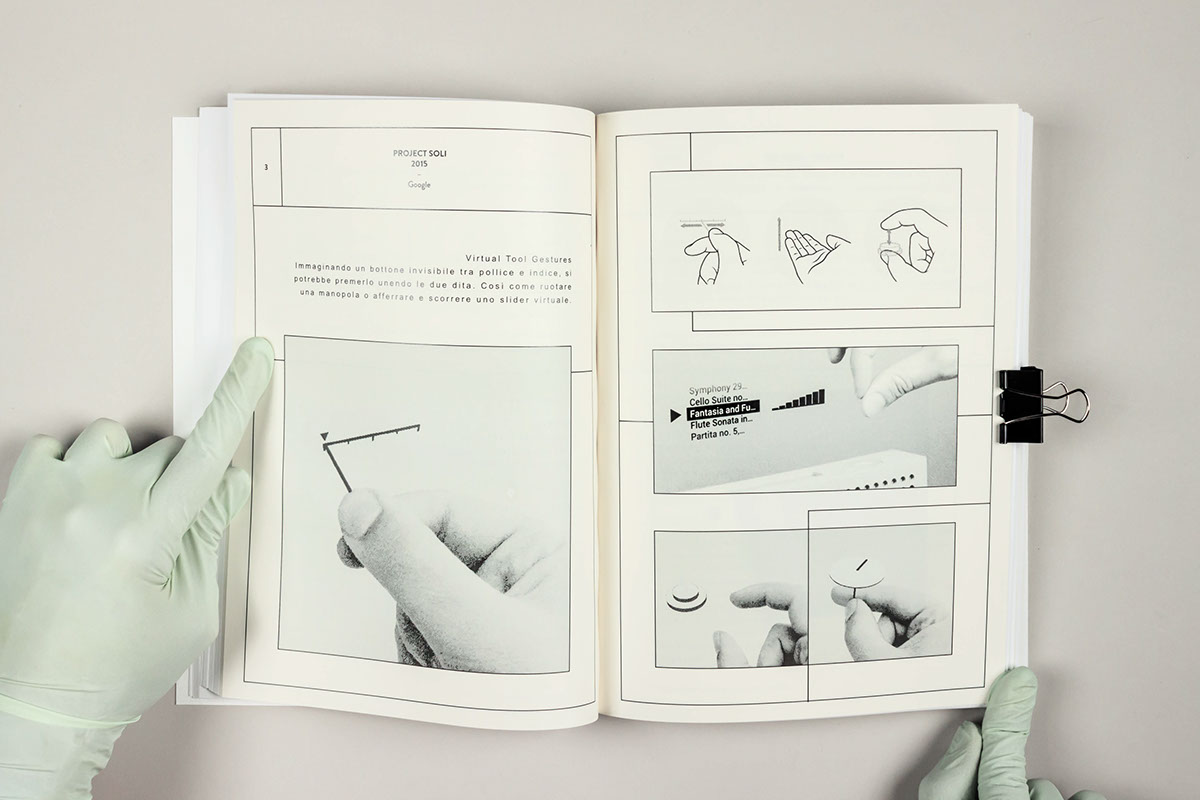 haptic touch interaction japan White paper publishing   editorial Project graphic