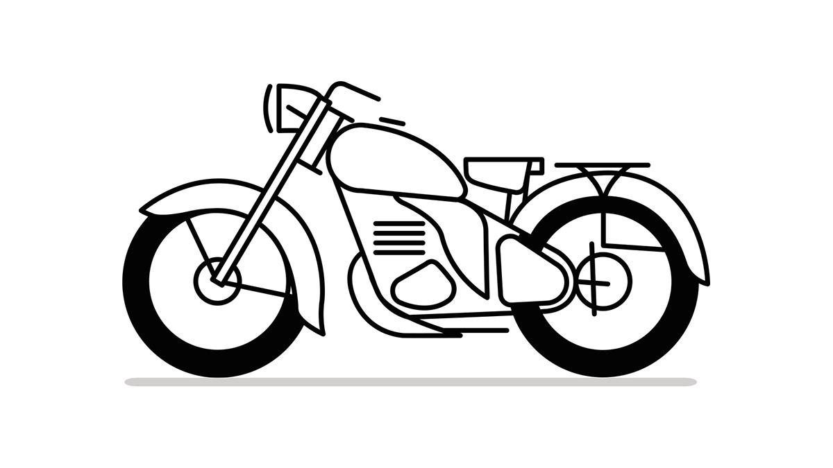 pitok motor museum on behance Vintage Honda 90 Motorcycle 1964 eng
