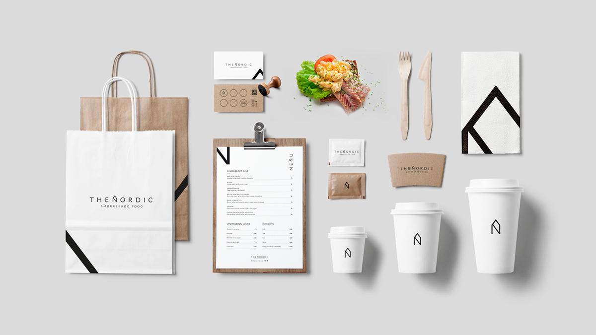 The Nordic - Brand identity
